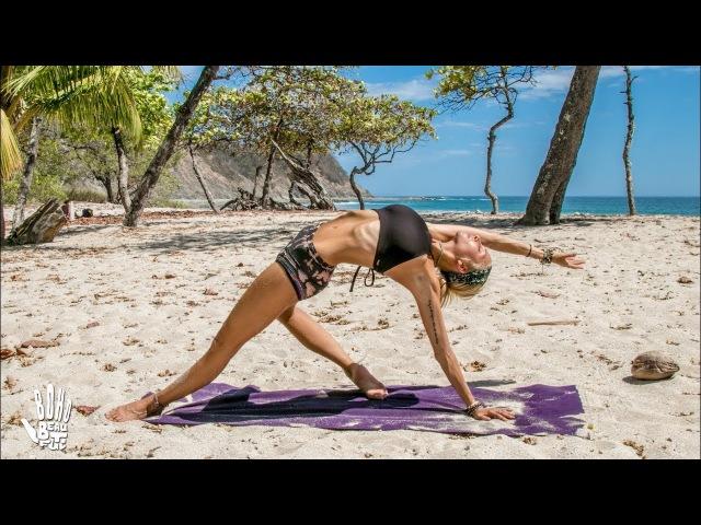 Йога среднего уровня ♥ Серия против стресса. Intermediate Yoga ♥ Stress Release Flow | Playa Barrigona
