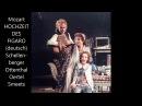 Mozart Die Hochzeit des Figaro Christoph Albrecht von Kamptz deutsch 1989 Schellenberger