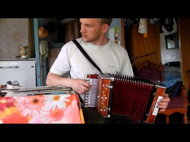 Цыганочка на новой гармони Tsiganochka handmade diatonic accordion