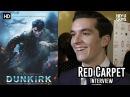 Fionn Whitehead Dunkirk Critics Circle Awards 2018 Red Carpet Interview