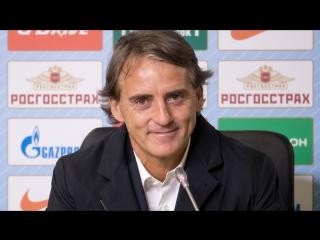 «Зенит» — «Уфа»: послематчевая пресс-конференция