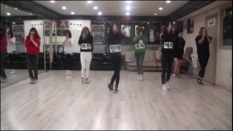 [VK] Girl's Day - Dont forget me Dance practice 3