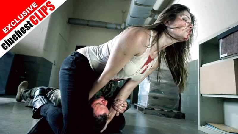 Headscissors Woman vs Man Fight Movie Catfight Feminine Attractive Blue Eyes