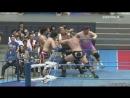 Jun Akiyama, Zeus, The Bodyguard, Atsushi Maruyama vs. Naoya Nomura, Yutaka Yoshie, Dylan James, Koji Iwamoto (AJPW Champion Car