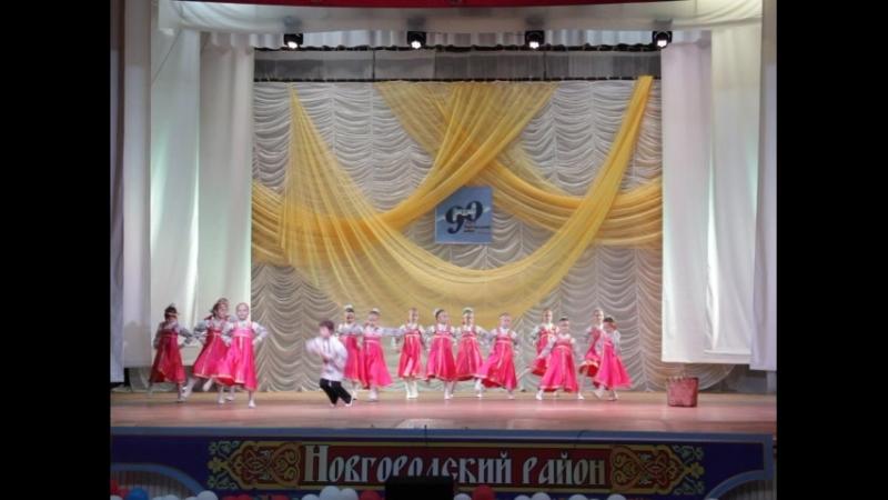 98265 образцовый хореографический ансамбль Мечта младшая группа п Пролетарий Ягодка малинка