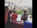 Hongki his Dohyun Hyunwoo hyungs performing in Turkey RoadtoIthaca - - Cr kungoon83