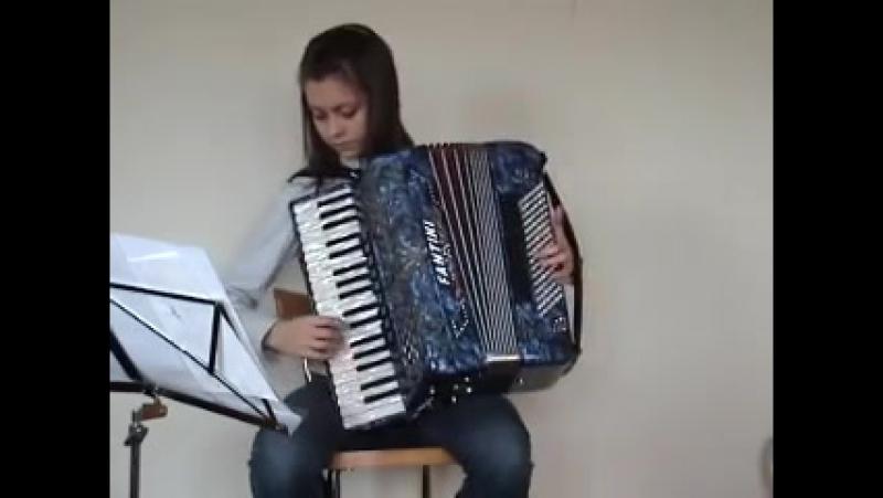 Fisarmonica Impazzita (итальянская полька). Переводится как Сумасшедший аккордеон (Crazy Accordion).
