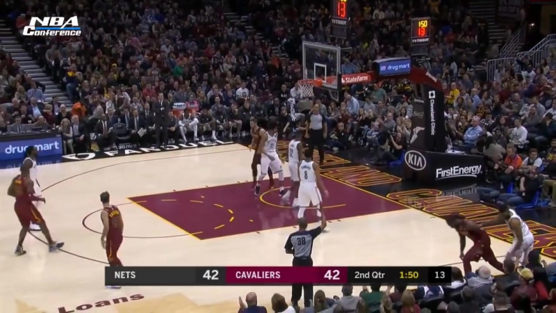 Brooklyn Nets vs Cleveland Cavaliers Full Game Highlights Nov 22 2017 18