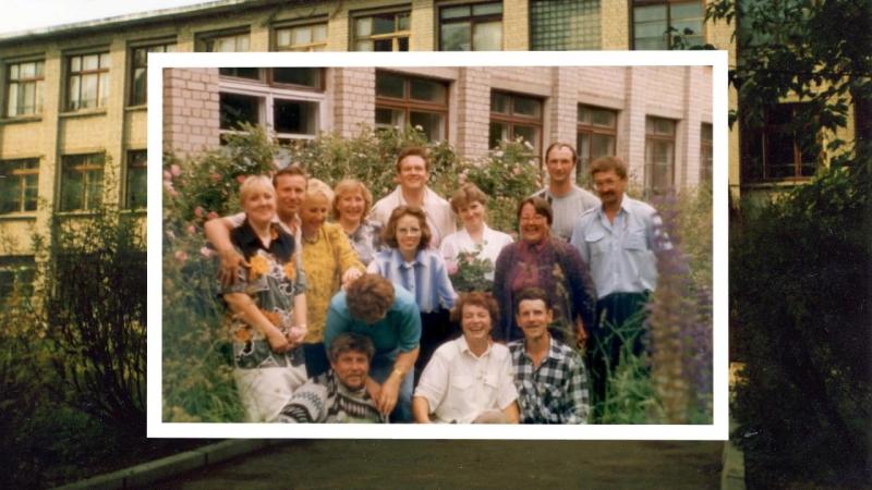 выпускникам 1976г школы №2 г Лихославля посвящается )
