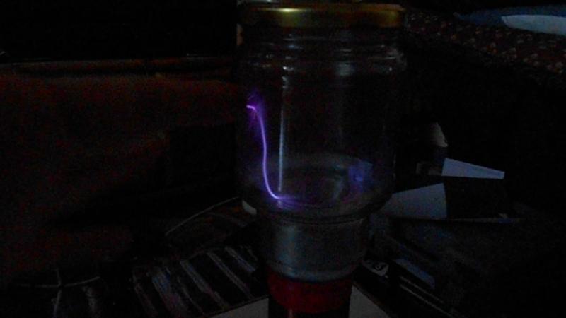катушка на тги2-13010 в банке пары этил. спирта откачка- шприцевой насос