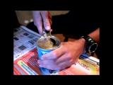 Как красиво открыть консервную банку ножом