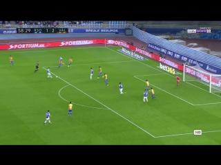 Испания ЛаЛига Реал Сосьедад - Валенсия 2:3 обзор  HD