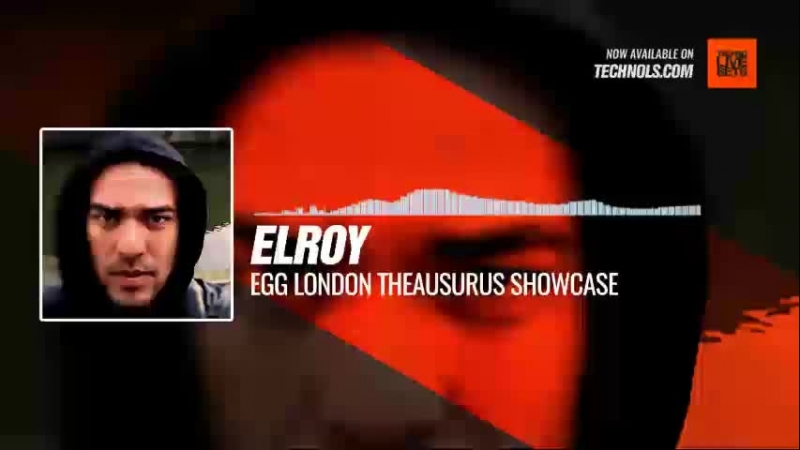 Techno music with Elroy EGG London Theausurus Showcase Periscope
