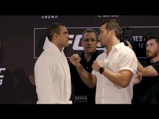 Стердауны главных участников UFC 224.
