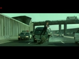 The Matrix Reloaded - Highway Fight Scene Part 1