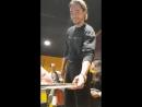 07 11 2017 Том в гримёрке Тилбург Нидерланды