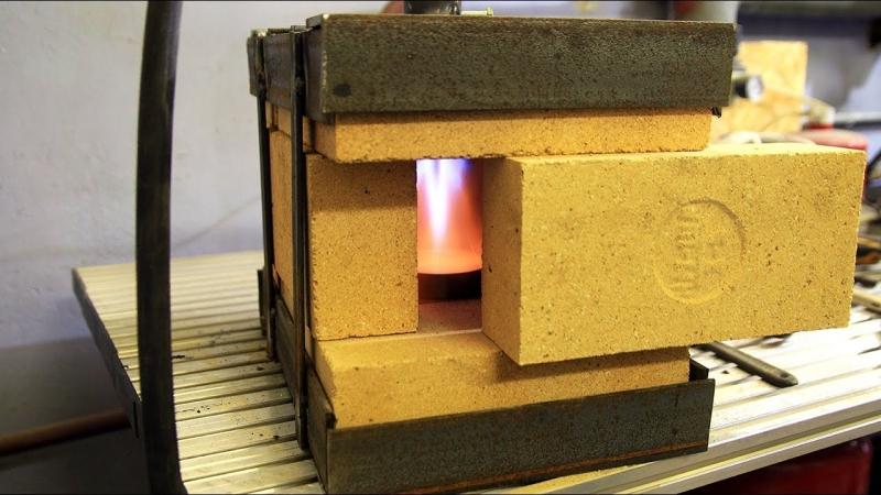 [SuperCrastan] Газовый горн в мастерскую. Открытый проект Gas Blower
