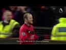 Wayne Rooney 4 goals Hall City in Old Trafford