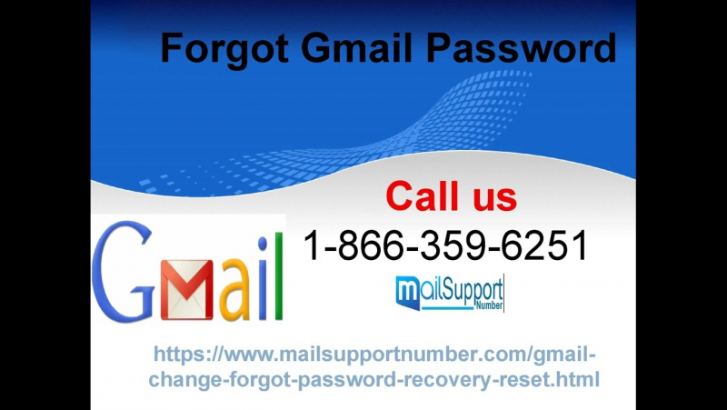 Forgot Gmail Password Defeat knotty circumstances on GMAIL 1-866-359-6251