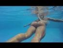 Victoria Lomba big booty (ass, butt, milf, brazil, sexy. bikini, sweaming pool)