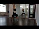 Poleography,хореография у пилона. Tanya Feel. Связка с группового урока