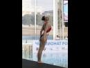 Чемпионка России по синхронному плаванию