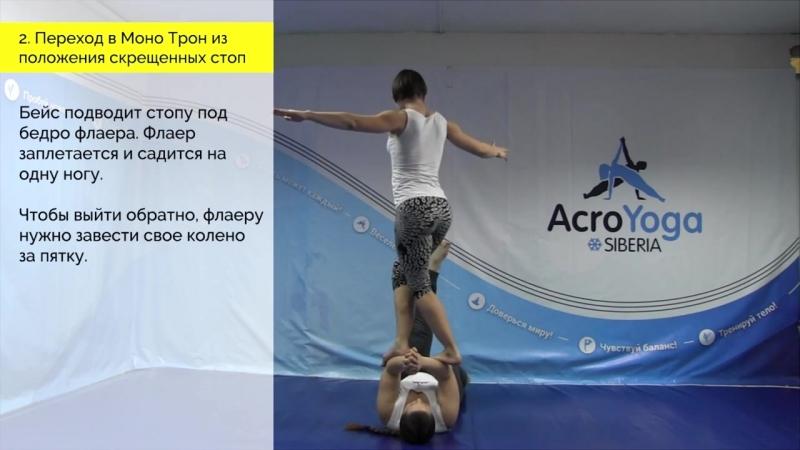 Уроки АкроЙоги Выпуск №6 Дарья Калиникина