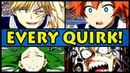 EVERY QUIRK EXPLAINED! | Class 1-B (My Hero Academia / Boku no Hero Academia All Quirks)