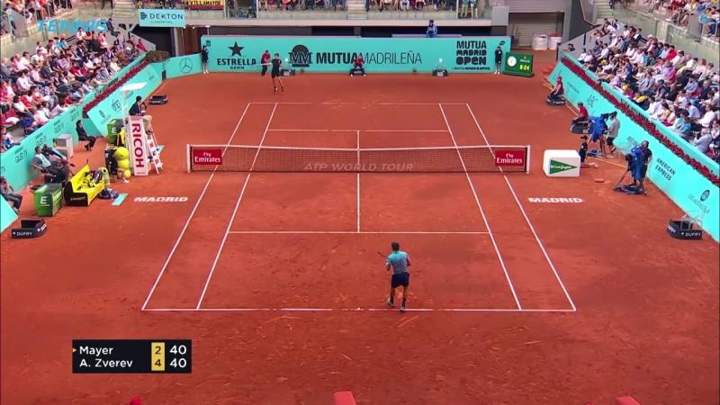 [Tennis TV] Nadal breaks set record; Lajovic stuns Del Potro | Madrid 2018 Highlights Day 5
