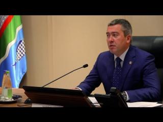Деловой понедельник с участием Главы Бугульминскрого муниципального района,мэра Бугульмы Линара Закирова