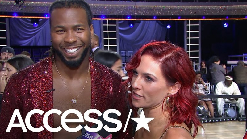 'DWTS': Josh Norman On That Giant Jump Over Sharna Burgess In Week 1 Routine | Access