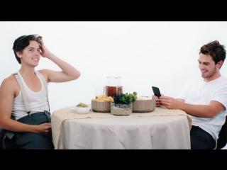 Коул Спроус и Кей Джей Апа | Батл комплиментов