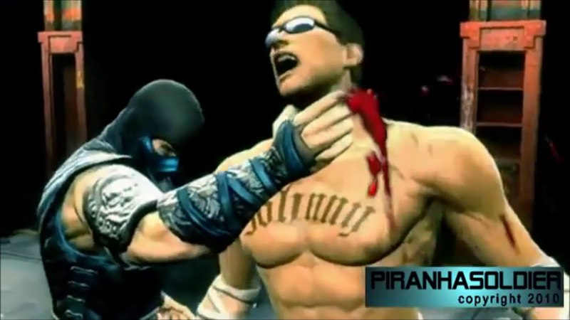 Mortal Kombat 9 fanmade FATALITY created by PIRANHASOLDIER