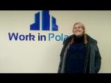 Отзыв от счастливой Валерии для Компании Work In Poland , рады вас видеть снова :))