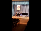 Баркова Алена, 12 лет , И.С.Бах, Куранта