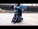 Машинка робот-трансформер Hurtling Ares