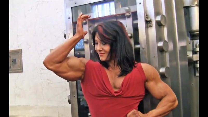 Alina Popa Perfect Muscles | BEAUTY FEMALE MUSCLE |American Muscle Fantasy with Alina Popa