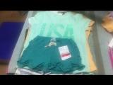 Лот 38. Девочки шорты+футболки. 4-12 лет