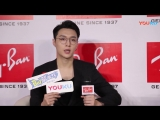 180605 EXO Lay Yixing @ Ray-Ban  Interview