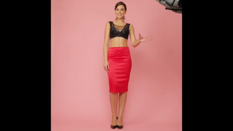 Faberlic Total look - красное и черное
