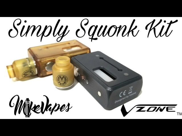 Simply Squonk Kit By VZONE - Giveaway!! - Mike Vapes