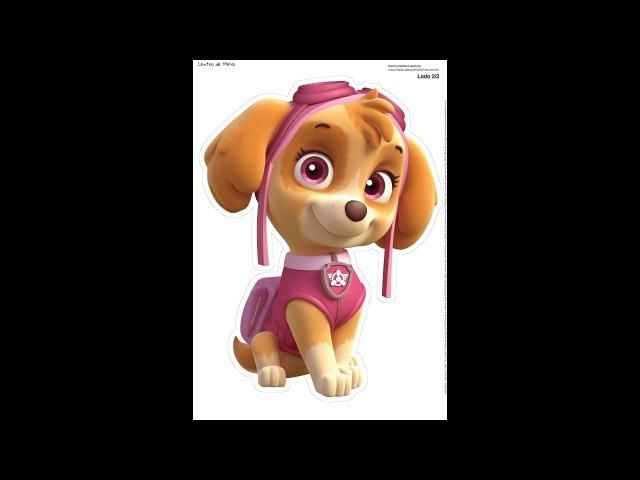 Скай Щенячий патруль, ч.2. Sky Puppy Patrol, р.2. Amigurumi. Crochet. Амигуруми