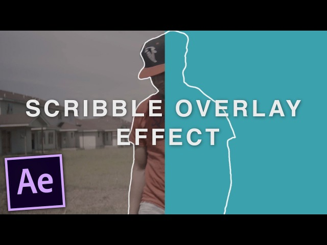 Music Video Scribble Effect OVERLAY - After Effects Tutorial