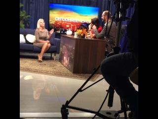 Оксану Стрункину пригласили на передачу одного из местных телеканалов