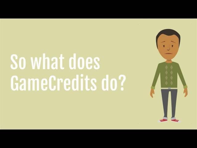 GameCredits explained