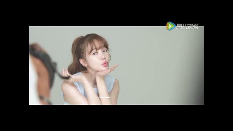 Yoon Eun Hye 윤은혜 'Mageline' Skincare BTS AD Photoshoot 2016