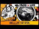 MD.TROY LIVE №27 | BELLUS V2 RTA by UD | Опять 25