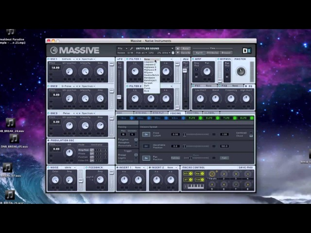 Atmosphere Pad Massive Tutorial (Drum Bass, Liquid, Dubstep, ect.)