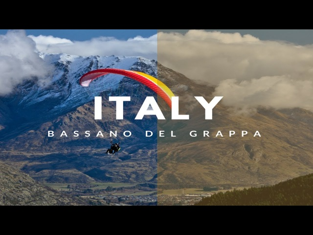 Fly in ITALY Bassano del Grappa with Temple Pilots Paragliding
