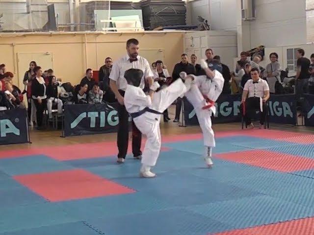 Крымские каратисты стиля кёкусин-кан завоевали очередные медали